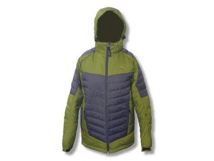 Mercox bunda pánská zimní Bergen green/grey