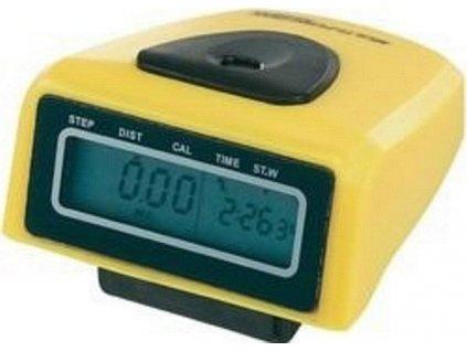 Krokoměr Junso 300B digitální žlutá 0197