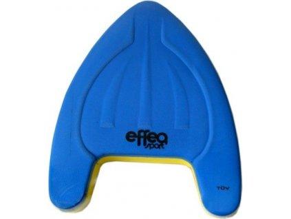 Plavecká deska EFFEA 2639 modro/žlutá 40 x 28 x 4 cm  5183