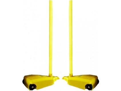 Sloupky na síť badminton se zátěží + síť SEDCO mobilní