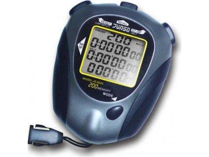 Stopky elektronické Junso 200LAP černo/šedé velikost 86 x 68 x 27,5 mm  4370