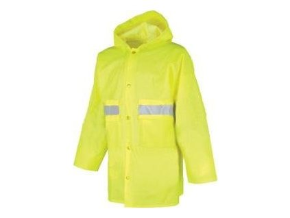 Nepromokavý reflexní plášť - Pláštěnka SENIOR 0440 Reflexní XXXL
