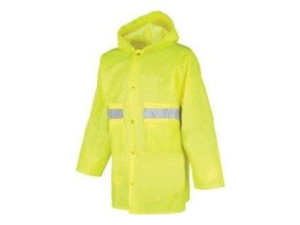 Nepromokavý reflexní plášt - Pláštěnka SENIOR 0440 Reflexní Žlutá 0440XXXL