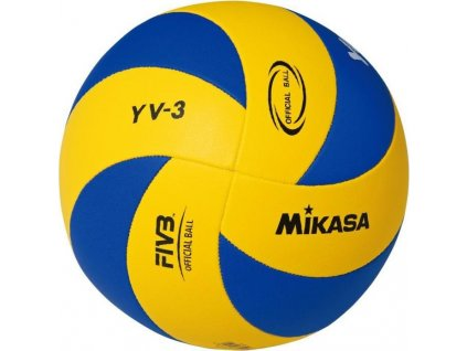 MIC VOLLEY MIKASA YOUTH YV-3 žluto/modrý  4325