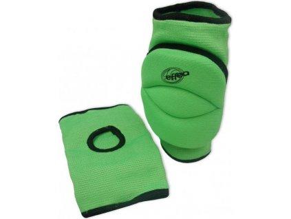 Chrániče kolen EFFEA 6644 KD sv. zelené Světle zelená