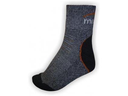 Mercox Hiking ponožky grey,melange
