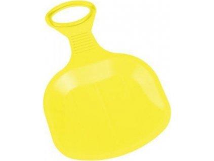 Klouzák BINGO Plastkon 43x35,5x0,4 cm Žlutý 2106ZL