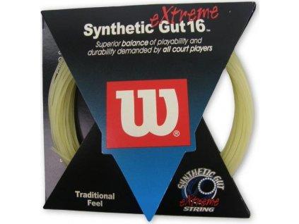 Tenisový výplet W - SYNTHETIC GUT eXtreme 16 doprodej  5014