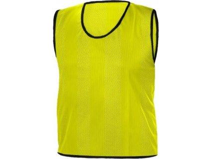 Rozlišovací dresy STRIPS ŽLUTÁ RICHMORAL velikost L  5163LZL