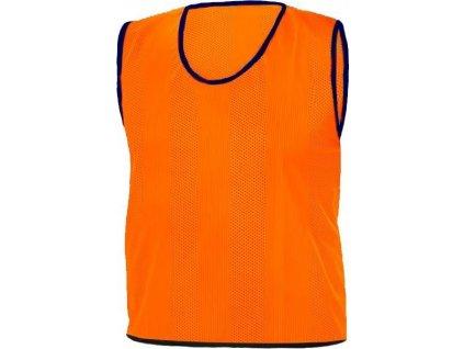 Rozlišovací dresy STRIPS ORANŽOVÁ RICHMORAL velikost XL  5163XLOR