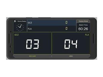 Scoreboard elektronický ukazatel skóre