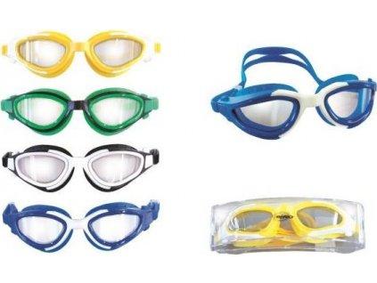 Plavecké brýle EFFEA SILICON 2619 Zelené 3497ZE