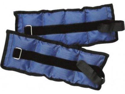 Zátěž zápěstí/kotníky SEDCO NYLON 2X1,0KG Modrá