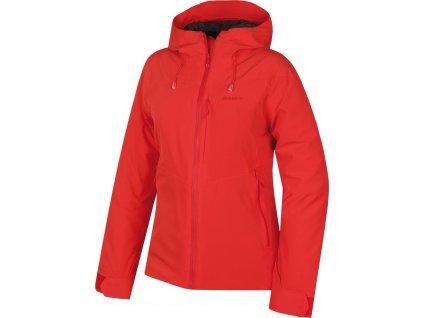Dámská hardshell bunda   Narbi L jemná červená
