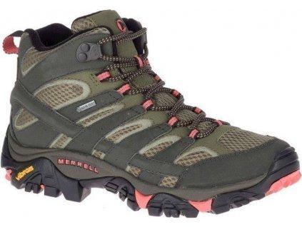 Merrell Moab 2 Mid GORE-TEX J41094 obuv treková dámská c0d66622695