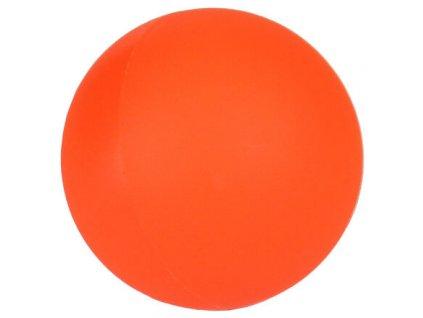 míček na hokejbal plastový, oranžový