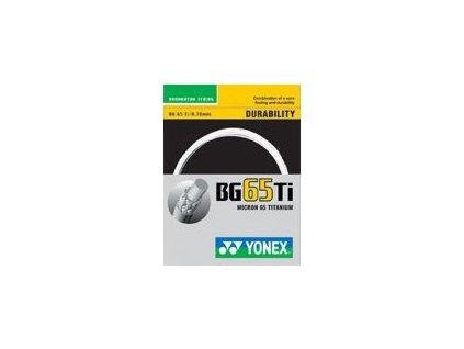 BG 65 Ti badmintonový výplet 10 m