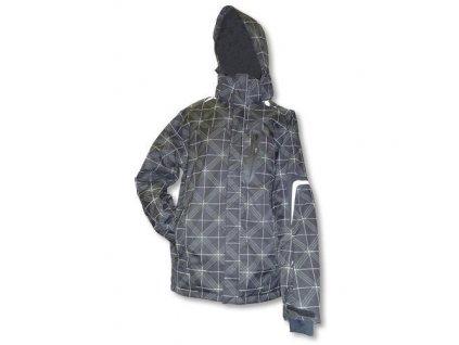 Mercox Pitztal black/white pánská zimní bunda