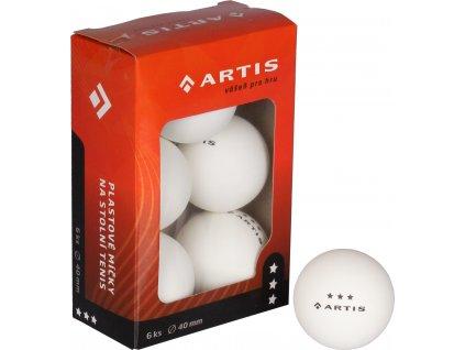 Artis 3 hvězdy míčky na stolní tenis