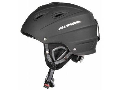 Grap lyžařská helma černá matná obvod 54-57