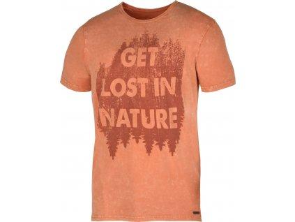 Pánské triko   Bronson M tm. oranžová
