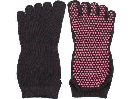 ponožky Yoga, Piloxing, Pilates prstové, unisex