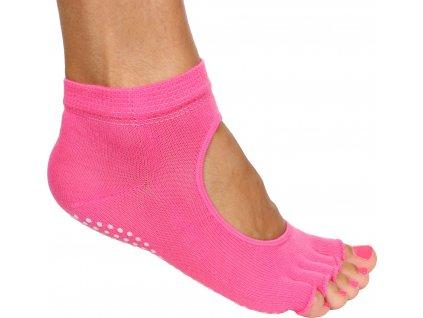 Grippy S2 ponožky na jógu, bezprsté