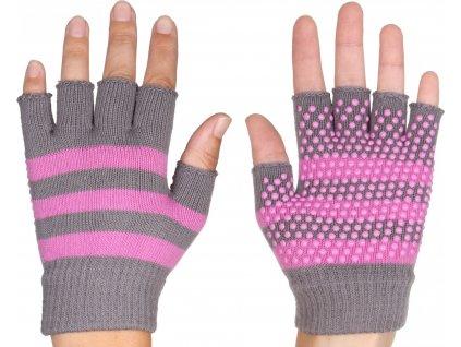 Grippy G1 rukavice na jógu, bezprsté