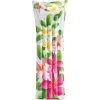 Nafukovací lehátko INTEX FASHION 59720 Bílá + květiny