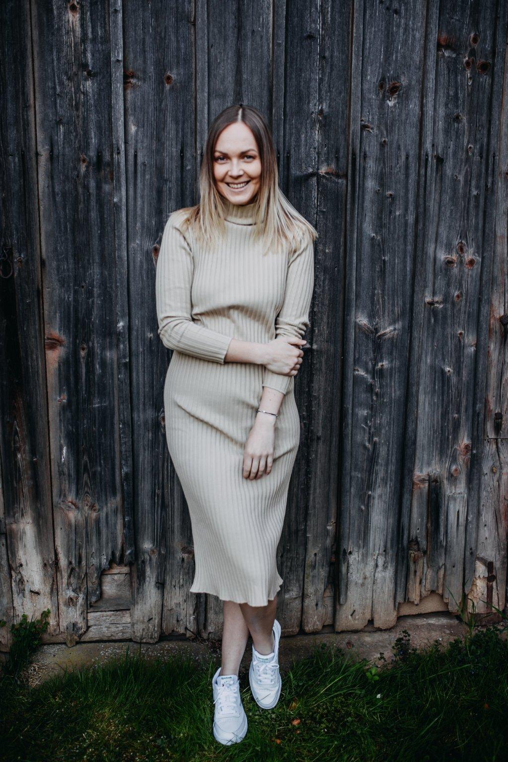 Merino šaty ROSIE