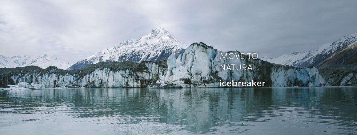 Icebreaker kolekce zima 2019/20 -  move to natural