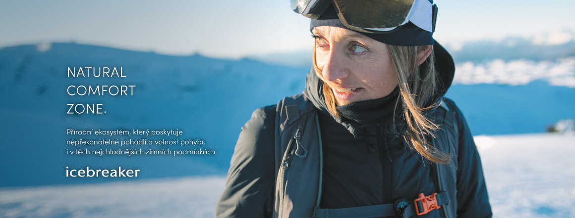 Icebreaker kolekce podzim/zima 2019 -  Natural Comfort Zone