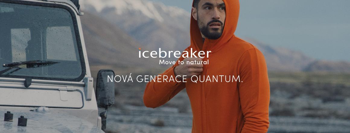 Icebreaker kolekce podzim/zima 2021 Quantum