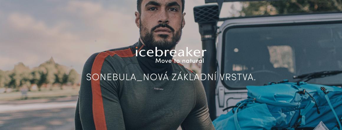 Icebreaker kolekce podzim/zima 2021 Sonebula