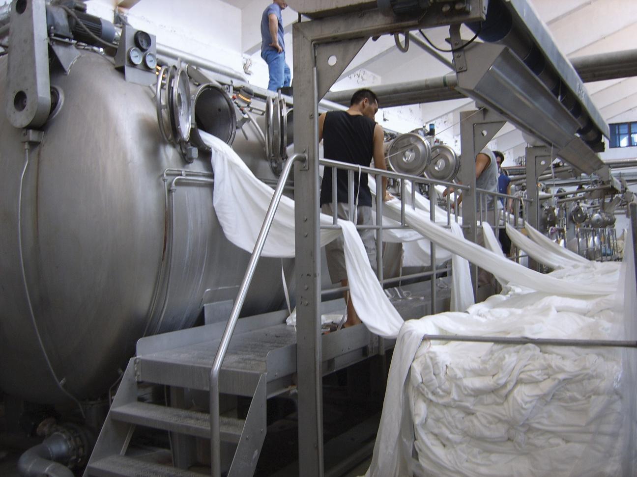 Icebreaker brand factory merino fabric