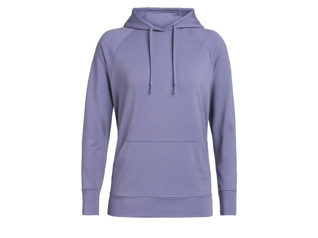 ICEBREAKER Wmns MoMentum Hooded Pullover, Orchid (velikost XS)