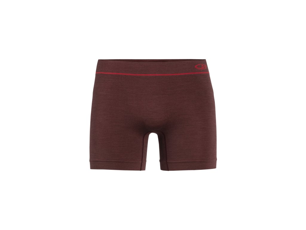 ICEBREAKER Mens Anatomica Seamless Boxers, PORT ROYALE (velikost XXL)