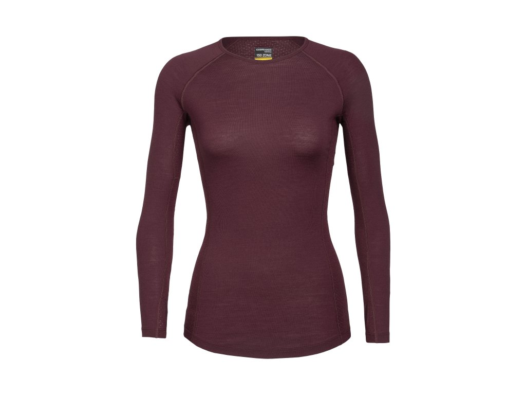 FW20 BASE LAYER WOMEN 150 ZONE LS CREWE 104331632 1