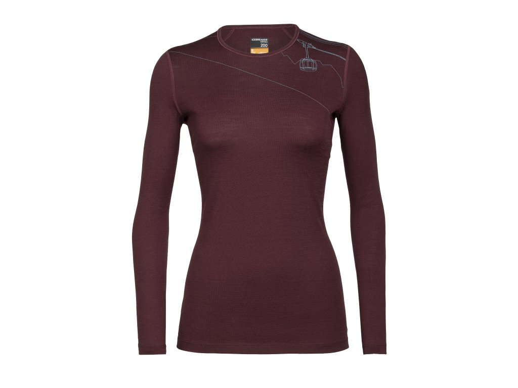 FW20 BASE LAYER WOMEN 200 OASIS LS CREWE SKYWAY LIFT 105217632 1
