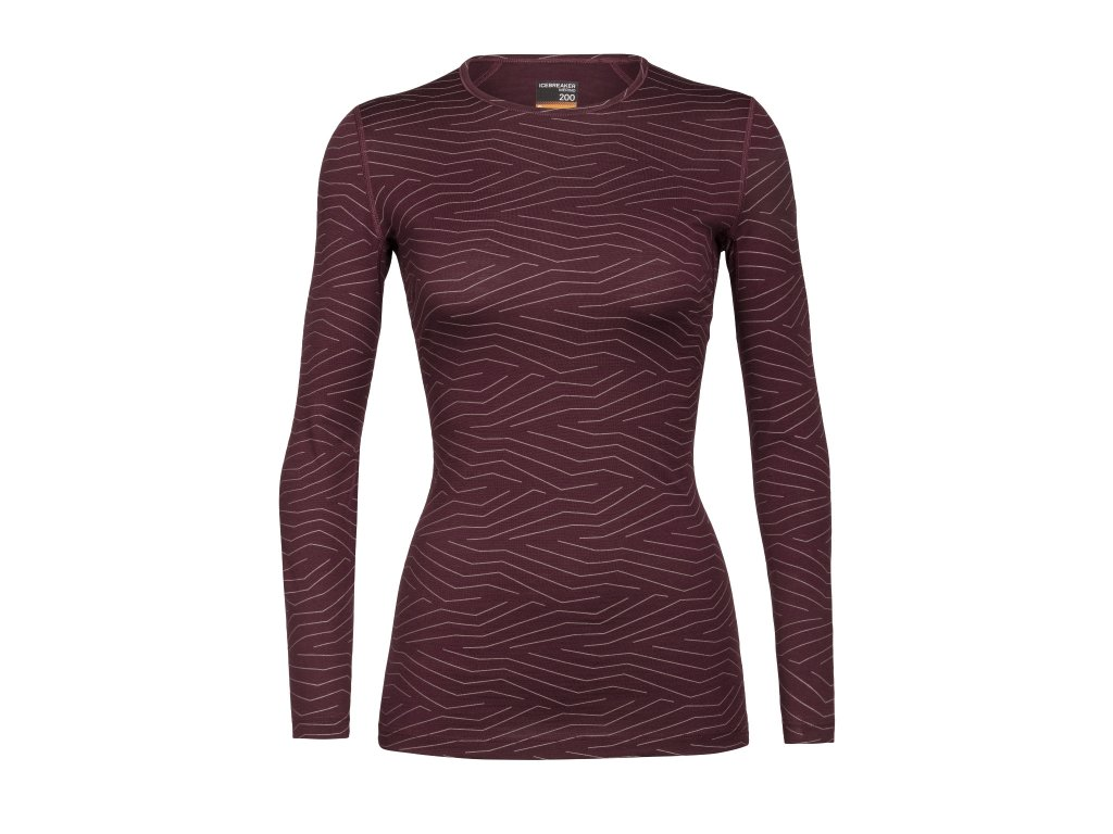 FW20 BASE LAYER WOMEN 200 OASIS LS CREWE NAPASOQ LINES 105216632 1