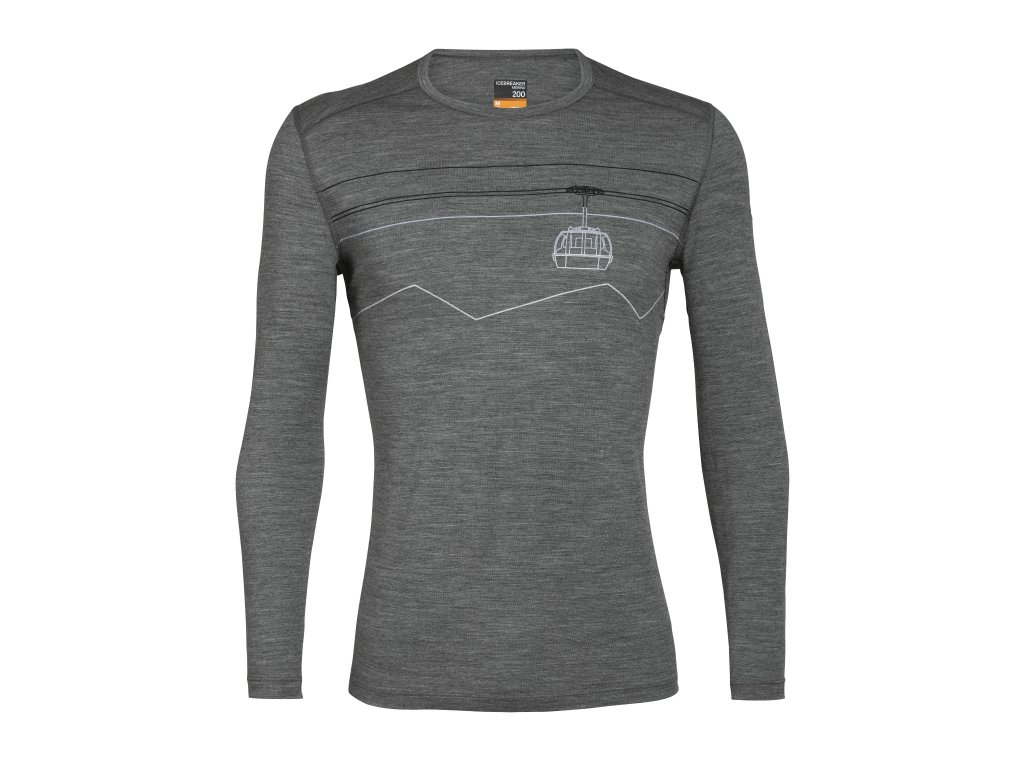 FW20 BASE LAYER MEN 200 OASIS LS CREWE PEAK TO PEAK LIFT 105208013 1