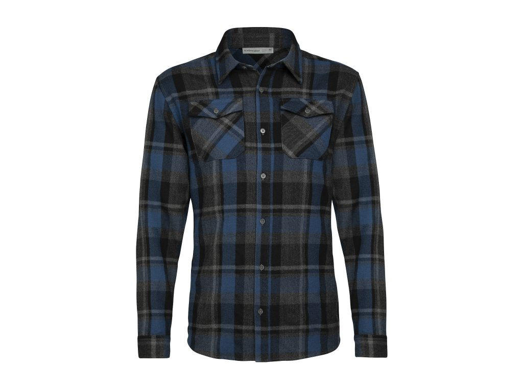 FW20 FIRST LAYER MEN LODGE LS FLANNEL SHIRT 104478A43 1