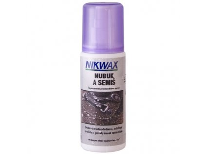 NIKWAX Nubuk a semiš spray-on 125 ml