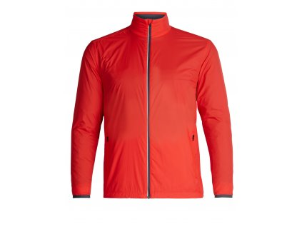 ICEBREAKER Mens Incline Windbreaker, CHILI RED/Monsoon