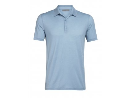 ICEBREAKER Mens Tech Lite SS Polo, Waterfall (velikost XXL)