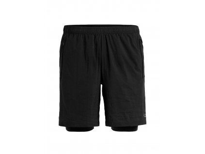 ICEBREAKER Mens Impulse Training Shorts, Black (velikost XXL)