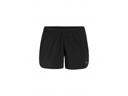 ICEBREAKER Wmns Impulse Running Shorts, Black (velikost XS)