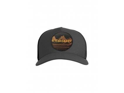 ICEBREAKER Adult Icebreaker Graphic Hat, Monsoon/Black (velikost OS (UNI))
