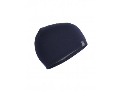 ICEBREAKER Adult Pocket Hat, Midnight Navy/Gritstone HTHR (velikost OS)