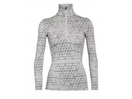 FW20 BASE LAYER WOMEN 250 VERTEX LS HALF ZIP ICE STRUCTURE 105212101 1